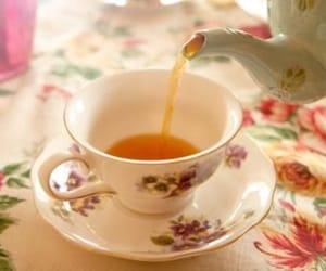 cup of tea, tea, and cute image