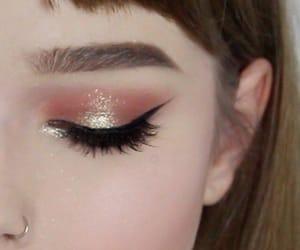 makeup, eye, and eyeshadow image