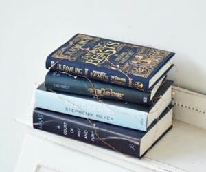 book, fantastic beasts, and blue image