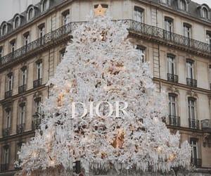 dior, christmas, and christmas tree image