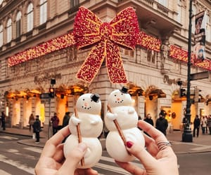 bright, merry christmas, and pandora image