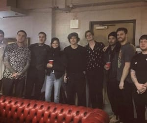 backstage, Harry Styles, and bring me the horizon image