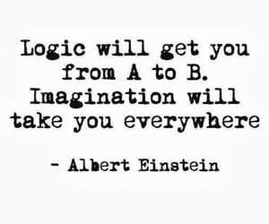 quotes, imagination, and Albert Einstein image