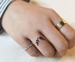accesories, tattoo, and ring image