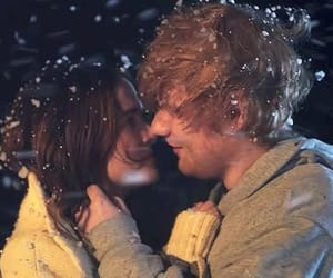 love, snow, and perfect image