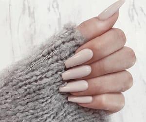 acrylic nails, nail inspo, and nail goals image