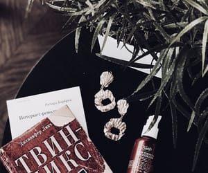 books, cosmetics, and details image