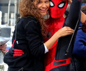 zendaya, Marvel, and spiderman image