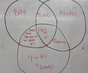 alcohol, boys, and fat image