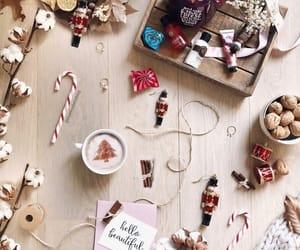 christmas, coffee, and home image