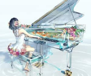anime, musician, and beautiful image