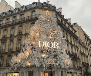christmas, dior, and fashion image