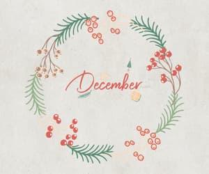 art, christmas, and december image