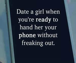 A girl, freaking, and date image