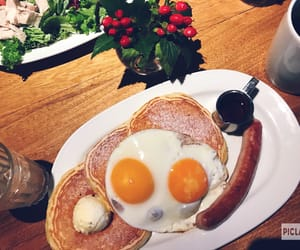 brunch, cafe, and pancake image