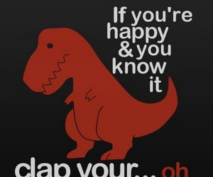 dinosaur, song, and funny image