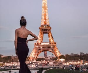 paris, fashion inspo, and city lights image