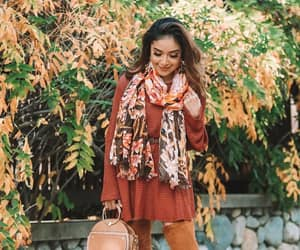 boots, outfit, and autumn style image