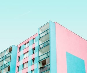aesthetics, pink, and teal image