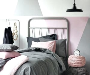 aesthetics, grey, and pink image