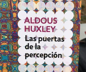 aldous huxley, book, and percepcion image