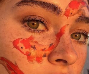 aesthetic, girl, and eyes image