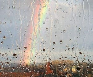 nature, photography, and rainbow image
