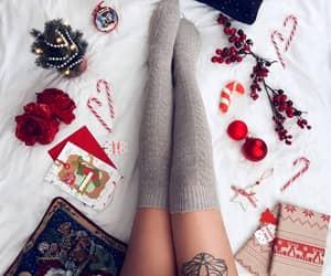 aesthetics, candycane, and christmas image