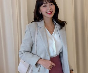 asian fashion, coat, and kfashion image