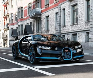 auto, black, and bugatti image