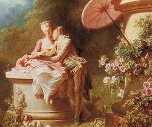 art, pink, and rococo image