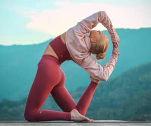yoga and fit image