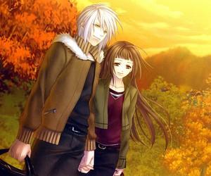anime, cool, and anime couple image