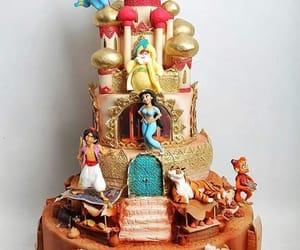 aladdin, art, and cake image