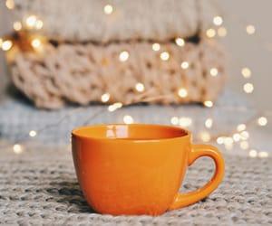 autumn, bokeh, and coffee image