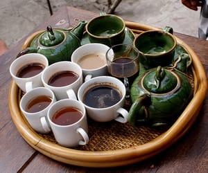 tea, coffee, and green image