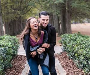 enzo, Bonnie, and Vampire Diaries image