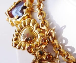 charms, etsy, and french fashion image