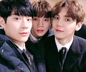 seungho, kang taewoo, and taewoo image
