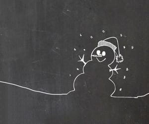 wallpaper, christmas, and snowman image