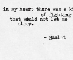 Hamlet, qoute, and text image