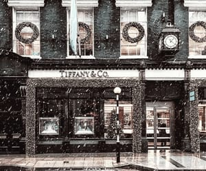 snow, tiffany, and tiffany & co image