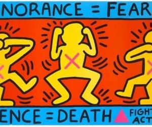 aids, lgbtq, and aids day image
