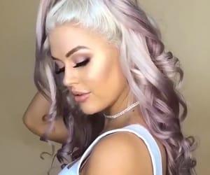 blonde, hair, and pastel image