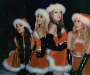ariana grande, christmas, and thank u next image
