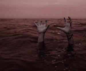 creepy, dark, and hands image