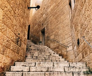 ancient, Jerusalem, and stairs image