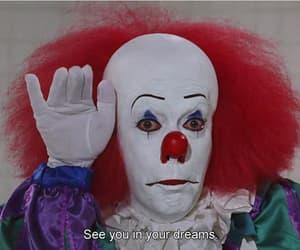 clown, it, and payaso image