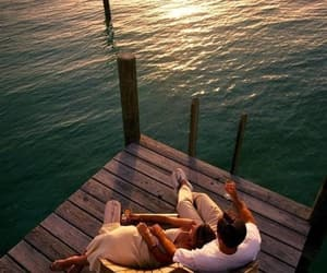 beautiful, ocean, and romance image