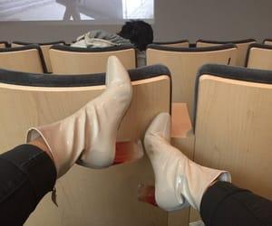 fashion, pvc, and shoes image
